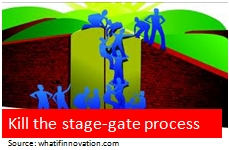 Kill the stage-gate...
