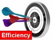 Effectiveness trumps efficiency